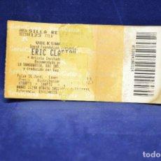 Entradas de Conciertos: ERIC CLAPTON - ENTRADAS . Lote 183369796