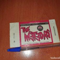 Entradas de Conciertos: THE METEORS, ENTRADA/INVITACION SALA UNIVERSAL DE MADRID, 1986. Lote 183458388