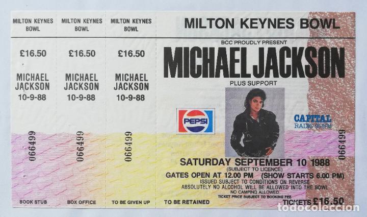 Entradas de Conciertos: Entrada concierto Michael Jackson, Londres. - Foto 3 - 187174917