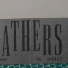 Entradas de Conciertos: THE GODFATHERS ENTRADA TICKET ORIGINAL CONCIERTO GARAGE PACHA ARENA VALENCIA 1987. Lote 189285840