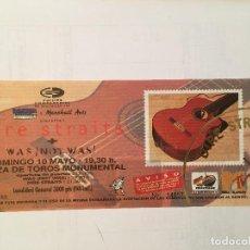 Biglietti di Concerti: DIRE STRAITS. ENTRADA SIN ROMPER 10/5/92 BCN. Lote 289319448