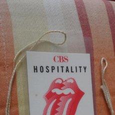 Entradas de Conciertos: ANTIGUA CREDENCIAL.THE ROLLING STONES.CBC HOSPITALITY.ROTTERDAM MAY 18 1990.. Lote 192187245
