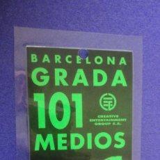 Bilhetes de Concertos: ANTIGUA CREDENCIAL DE PRENSA.MADONNA.BARCELONA . Lote 192573248