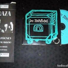 Entradas de Conciertos: ENTRADA DE COLECCION Y CD DE - MARAÑONES - ENTRADA DE 1988 EN VALENCIA Y CD 4 TEMAS 1998 Y ENTREVIST. Lote 193769690