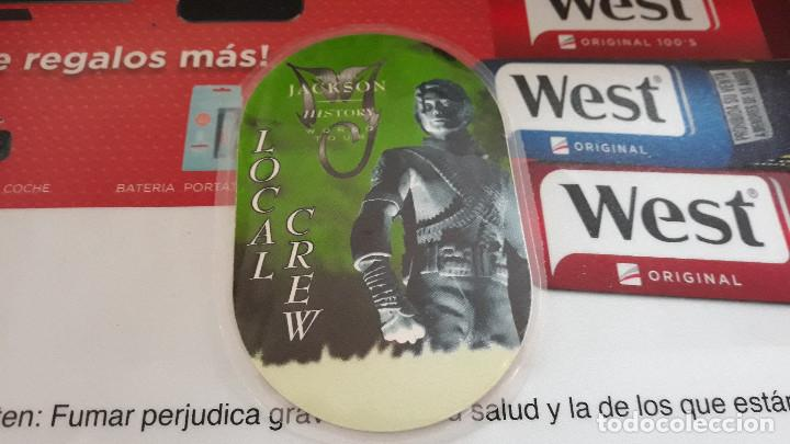 MICHAEL JACKSON-PASS BACKSTAGE HISTORY WORLD TOUR-LOCAL CREW (Música - Entradas)