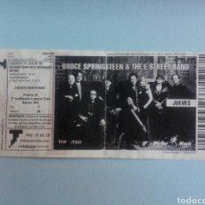 Entradas de Conciertos: ENTRADA CONCIERTO BRUCE SPRINGSTEEN - ESTADIO SANTIAGO BERNABEU - 17 DE JULIO DE 2008. Lote 194205137