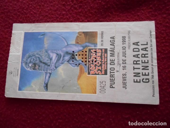 ENTRADA DE CONCIERTO DE ROLLING STONES 1998 (Música - Entradas)