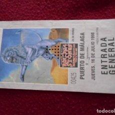 Entradas de Conciertos: ENTRADA DE CONCIERTO DE ROLLING STONES 1998. Lote 194299112
