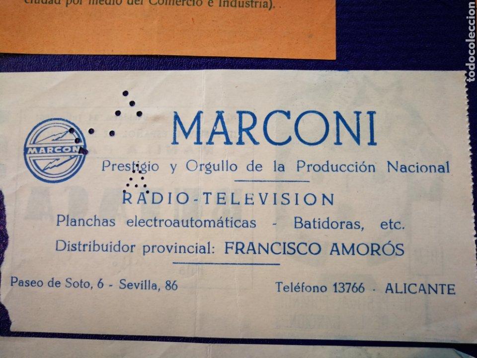 Entradas de Conciertos: LOTE DE 6 ENTRADAS PARA III FESTIVAL ESPAÑOL DE LA CANCIÓN. BENIDORM JULIO 1961. - Foto 13 - 194320475