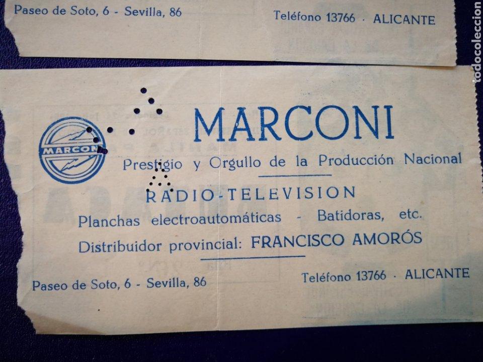 Entradas de Conciertos: LOTE DE 6 ENTRADAS PARA III FESTIVAL ESPAÑOL DE LA CANCIÓN. BENIDORM JULIO 1961. - Foto 15 - 194320475