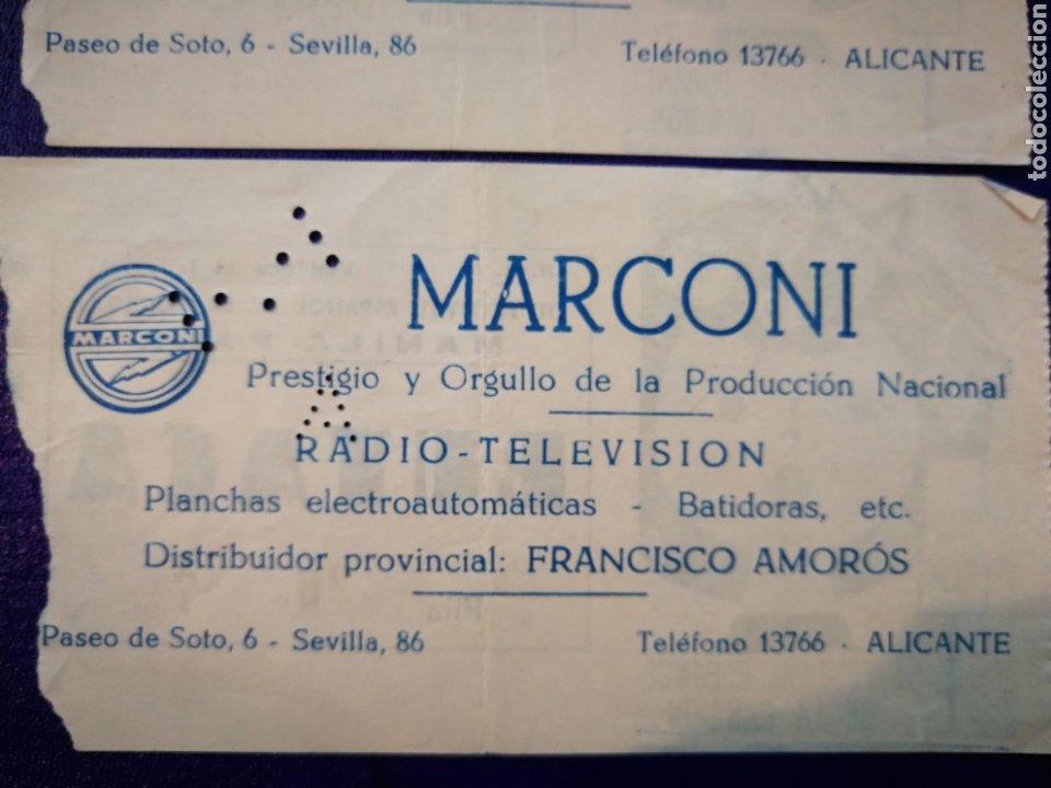 Entradas de Conciertos: LOTE DE 6 ENTRADAS PARA III FESTIVAL ESPAÑOL DE LA CANCIÓN. BENIDORM JULIO 1961. - Foto 16 - 194320475
