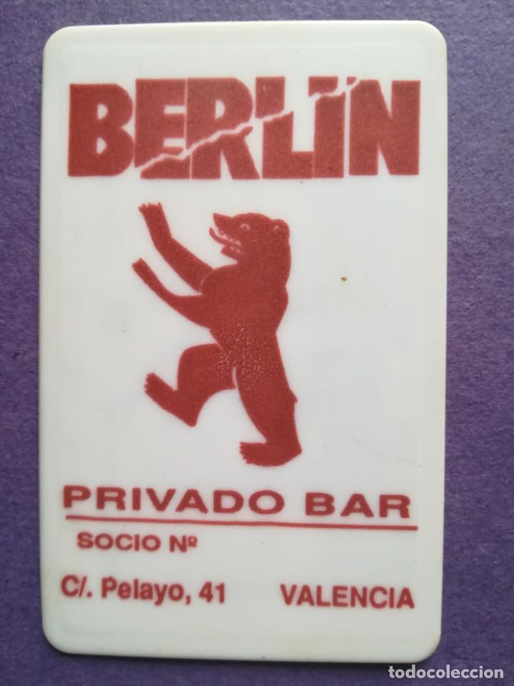 ENTRADA PASE VIP BAR BERLIN VALENCIA AÑOS 80 (Música - Entradas)