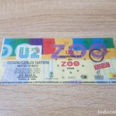 Entradas de Conciertos: ENTRADA CONCIERTO U2. ZOO TV ESTADIO TARTIERE OVIEDO 1993. Lote 194635862