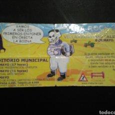 Entradas de Conciertos: ENTRADA CONCIERTO VIÑA ROCK 2000 (VER CARTEL). Lote 195047000