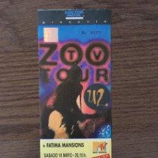 Entradas de Conciertos: U2 ENTRADA BCN SANT JORDI 16 MAYO SIN ROMPER. Lote 195055047
