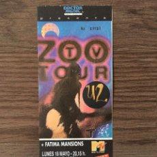 Entradas de Conciertos: U2 ENTRADA CONCIERTO BARCELONA 18 MAYO SIN ROMPER. Lote 195055058