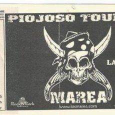 Entradas de Conciertos: ENTRADA CONCIERTO MAREA PIOJOSO TOUR. Lote 195515050