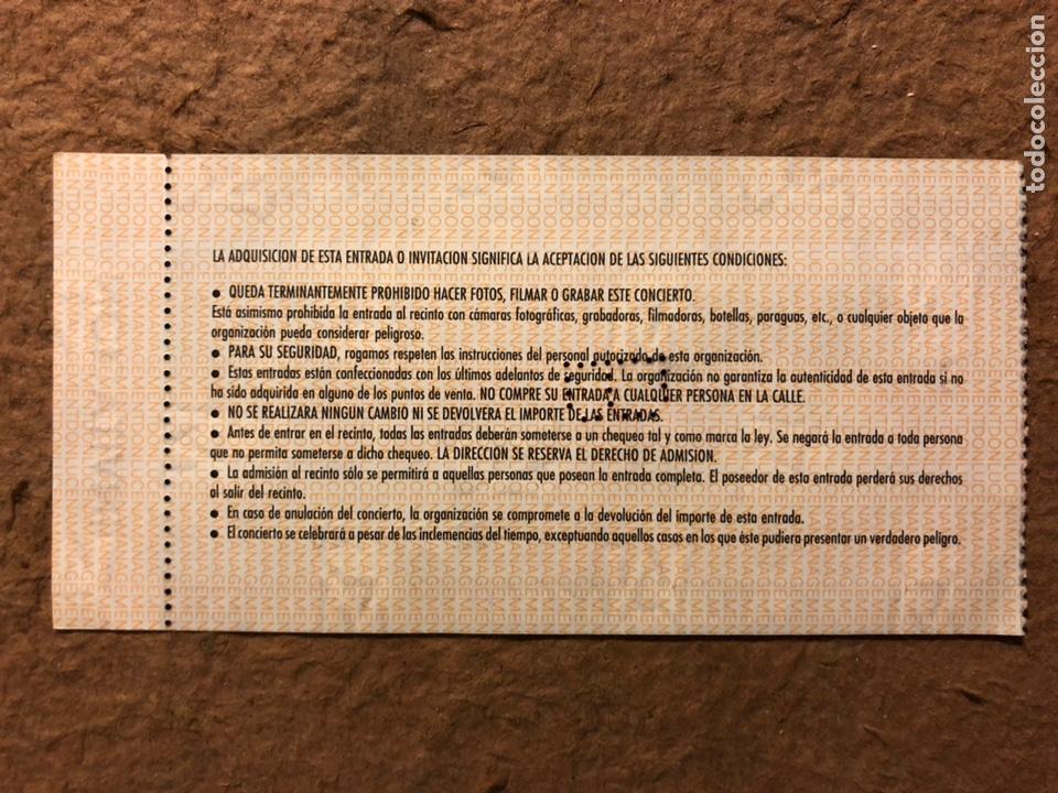 Entradas de Conciertos: JOAQUÍN SABINA, GIRA FÍSICA Y QUÍMICA. ENTRADA COMPLETA CONCIERTO LA CASILLA (BILBAO), 1992. - Foto 2 - 195792535