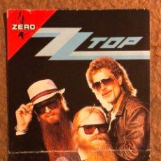 Entradas de Conciertos: ZZ TOP. ENTRADA HISTÓRICO CONCIERTO EN BORDEAUX (FRANCIA) EN 1986.. Lote 195912683
