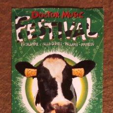 Entradas de Conciertos: DR. MUSIC FESTIVAL 1997 (BEASTIE BOYS, BOB DYLAN, PULP, NICK CAVE, PORTISHEAD,..). ENTRADA COMPLETA. Lote 196024440