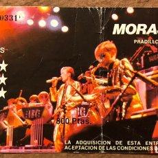 Entradas de Conciertos: ABC. ENTRADA HISTÓRICA CONCIERTO EN SALA MORASOL (MADRID) EN 1983. PRESENTANDO THE LEXICON OF LOVE. Lote 196024633