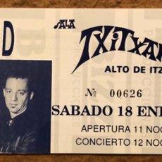 Entradas de Conciertos: DR. FEELGOOD. ENTRADA COMPLETA CONCIERTO SALA TXITXARRO (DEBA).. Lote 196077526