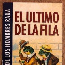 """Biglietti di Concerti: EL ÚLTIMO DE LA FILA """"LA REBELIÓN DE LOS HOMBRES RANA GIRA '95/96"""". TARJETA PASE ACCESO TODAS ÁREAS. Lote 196133348"""