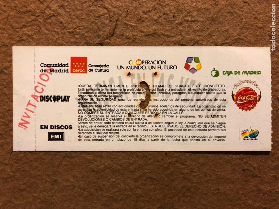 Entradas de Conciertos: GABINETE CALIGARI + AVÍATE!. ENTRADA COMPLETA CONCIERTO PLAZA TOROS LAS VENTAS (MADRID) EN 1991 - Foto 2 - 196135043