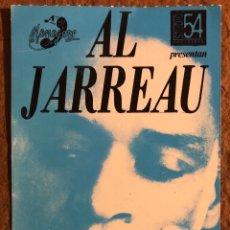 Entradas de Conciertos: AL JARREAU. ENTRADA COMPLETA CONCIERTO EN SALA STUDIO 54 (BARCELONA), AÑOS 80.. Lote 196135172