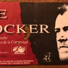 Entradas de Conciertos: JOE COCKER. ENTRADA CONCIERTO EN EL PALACIO DE LOS DEPORTES DE MADRID EN 1992.. Lote 196308537