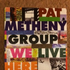 Entradas de Conciertos: PAT METHENY GROUP, WE LIVE HERE TOUR. PASE AUTORIZACIÓN CONCIERTO BARCELONA EN 1995.. Lote 196321321