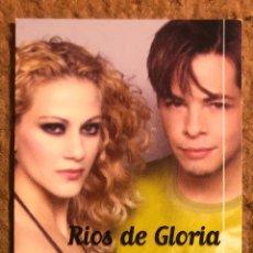 Entradas de Conciertos: RÍOS DE GLORIA. ENTRADA CONCIERTO EN SHANGAY TEA DANCE (MADRID) EN 2001. PRESENTANDO DESAFÍAME.. Lote 196400753