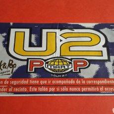 Entradas de Conciertos: ENTRADA GRUPO U2 GIRA POP MART TOUR 97 ROCK & POP, CONCIERTO MONTJUIC BARCELONA ESPAÑA 1997.. Lote 197258836