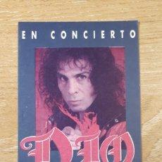 Bilhetes de Concertos: ENTRADA CONCIERTO DIO. Lote 197858422