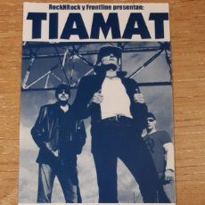 Entradas de Conciertos: ENTRADA CONCIERTO DE TIAMAT. Lote 197882455