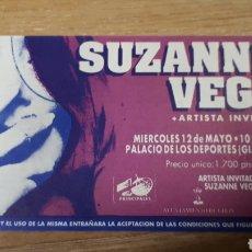 Entradas de Conciertos: ENTRADA CONCIERTO DE SUZANNE VEGA. Lote 197882496