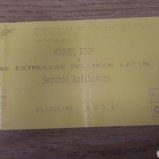 Entradas de Conciertos: ENTRADA CONCIERTO DE MIGUEL RIOS. Lote 197882536