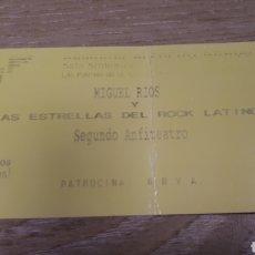 Entradas de Conciertos: ENTRADA CONCIERTO DE MIGUEL RIOS. Lote 197882583