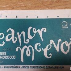 Entradas de Conciertos: ENTRADA CONCIERTO DE ELEANOR MC EVOY. Lote 197882685