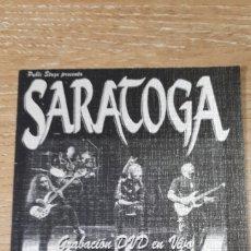 Entradas de Conciertos: ENTRADA CONCIERTO DE SARATOGA. Lote 197882771
