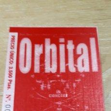 Entradas de Conciertos: ENTRADA CONCIERTO DE ORBITAL. Lote 197882963