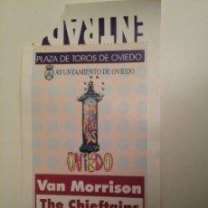 Entradas de Conciertos: VAN MORRISON THE CHIEFTAINS OVIEDO 13 SEPTIEMBRE 1995. Lote 198492048