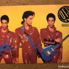 "Biglietti di Concerti: PRINCE ""NUDE TOUR 1990"". TARJETA INVITACIÓN FIESTA PRESENTACIÓN GIRA SALA OTTO ZUTZ (BARCELONA).. Lote 198583661"