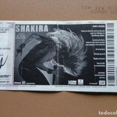 Entradas de Conciertos: SHAKIRA - 2011. Lote 198899793