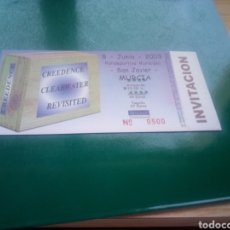 Biglietti di Concerti: ENTRADA ANTIGUA DE CONCIERTO. CREEDENCE, REVISITED Y CLEARWATER. 2003. SAN JAVIER (MURCIA). 500. Lote 201980265