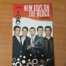 Entradas de Conciertos: ENTRADA INVITACION NEW KIDS ON THE BLOCK TODAY SHOW 2008 LOTE 8. Lote 206355091