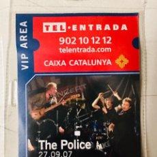 Entradas de Conciertos: PASE VIP CONCIERTO THE POLICE BARCELONA 2007. Lote 206471606
