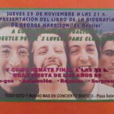 Entradas de Conciertos: INVITACIÓN ENTRADA EVENTO DE LOS BEATLES. Lote 207066035