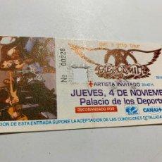 Entradas de Conciertos: ENTRADA ORIGINAL DEL CONCIERTO DE AEROSMITH GET A GRIP TOUR 4 NOVIEMBRE 1993 BARCELONA. Lote 207121931