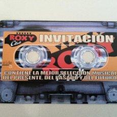 """Entradas de Conciertos: ROXY CLUB VALENCIA INVITACIÓN FLYER """"CINTA CASETTE"""". Lote 207155463"""